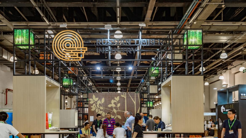Выставка Sylvawood2017 в Шанхае.