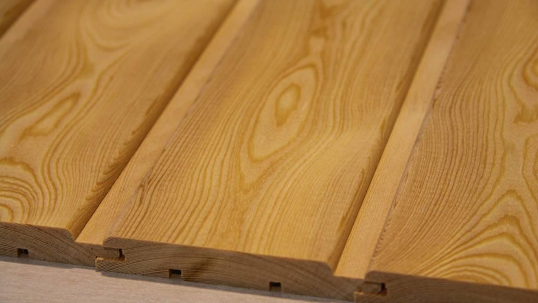 Евровагонка — отделочный материал из натурального дерева