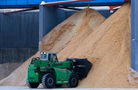 Строительство завода по производству топливных гранул
