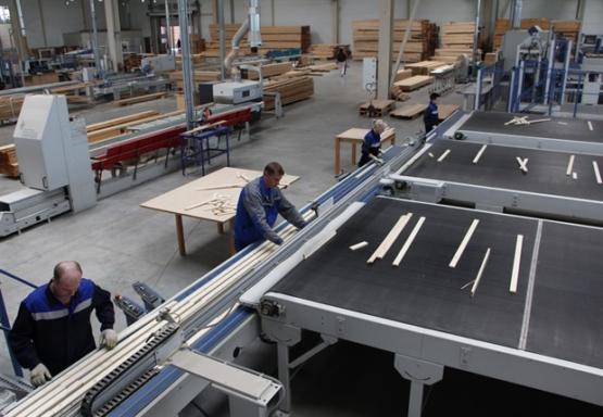 В Красноярске запущено производство столярной плиты