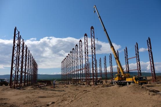 Для сборки здания завода по производству топливных гранул потребуется 6000 болтов