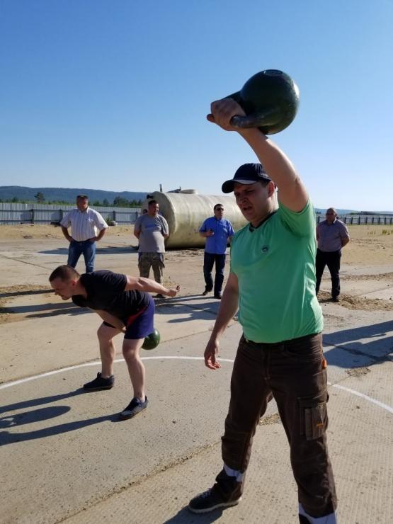 Физкультинвест — спартакиада среди сотрудников «Краслесинвест»