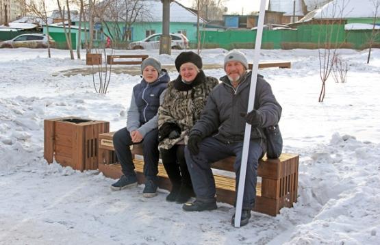 «Краслесинвест» помогает благоустраивать сквер в Красноярске